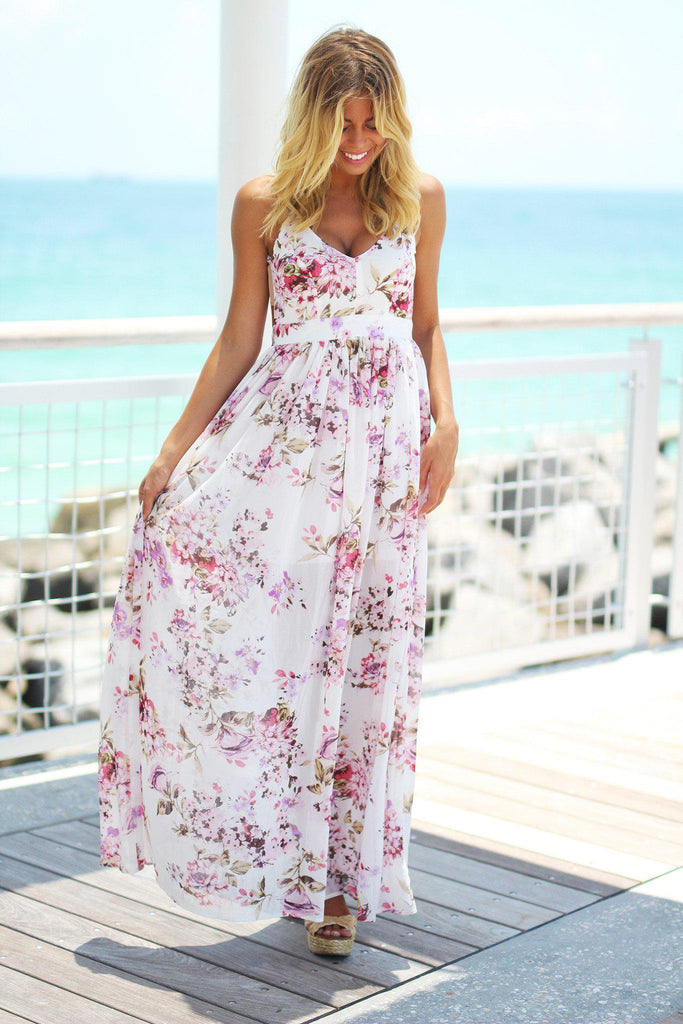 floral special occasion dress