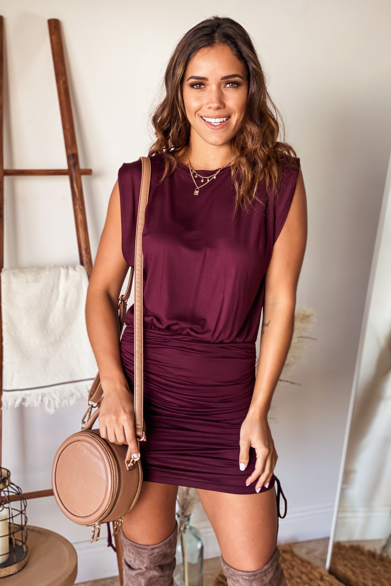 wine party short dress