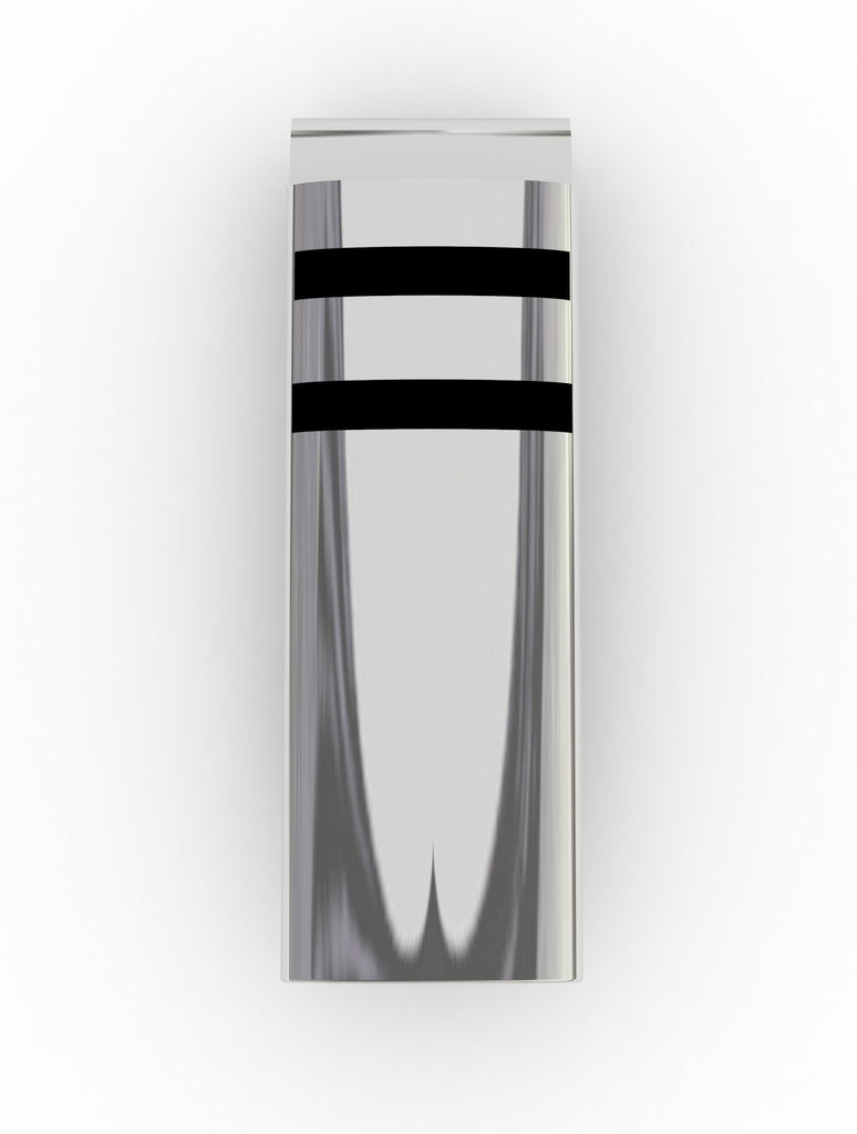 "Giftware - Stainless Steel Money Clip, ""The Locke"" - Stylish Design, Compact, Stainless Steel"
