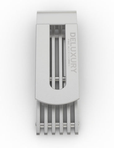"Giftware - ""The Friedman Silver Stainless Steel Money Clip"" - Stylish Design, Compact, Stainless Steel"