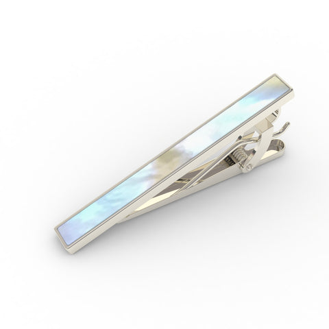 Professional - Mother-of-Pearl Tie Clip - Classic, Elegant & A Perfect Gift