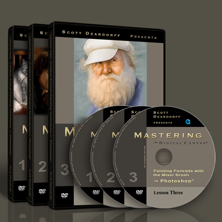 Mastering the Digital Canvas - The Complete Set (download only)
