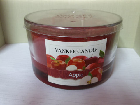 Yankee Candle 3-wick Dish 17 oz. - Apple