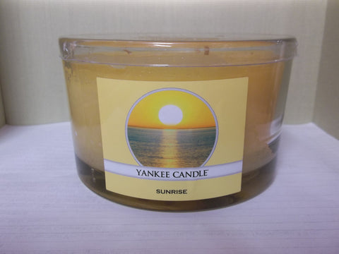 Yankee Candle 3-wick Dish 17 oz. - Sunrise