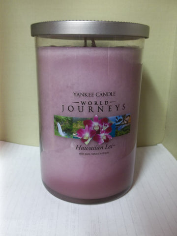 Yankee Candle World Journeys 2-wick Large Tumbler 20 oz. -  Hawaiian Lei