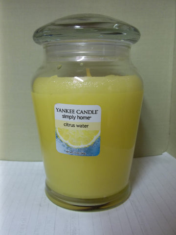 Yankee Candle Simply Home 12 oz. -  Citrus Water