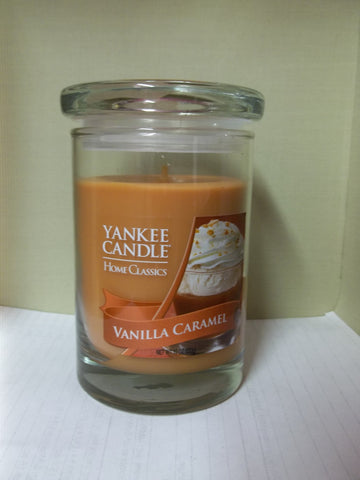 Yankee Candle Home Classics Glass Jar 10 oz. - Vanilla Caramel