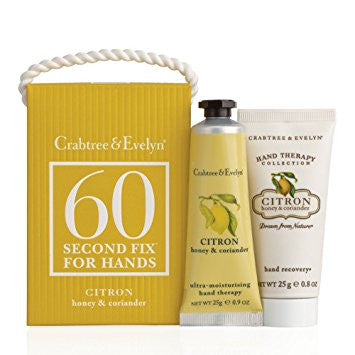 Crabtree & Evelyn Citron 60 Second Hand Fix - Discontinued Beauty Products LLC
