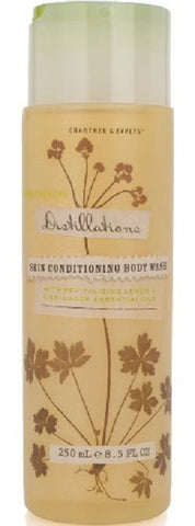 Crabtree & Evelyn Distillations Skin Conditioning Body Wash with Lemon & Coriander 8.5 oz - Discontinued Beauty Products LLC