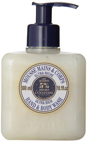 L'Occitane Ultra Rich Hand & Body Wash 16.9 oz. - Discontinued Beauty Products LLC