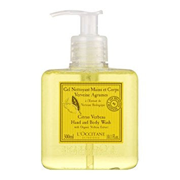 L'Occitane Citrus Verbena Hand and Body Wash - Discontinued Beauty Products LLC