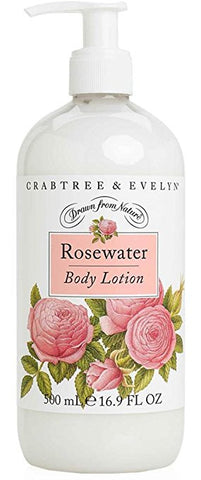 Crabtree & Evelyn Evelyn Rose Body Lotion Original Scent 8.5 fl oz - Discontinued Beauty Products LLC