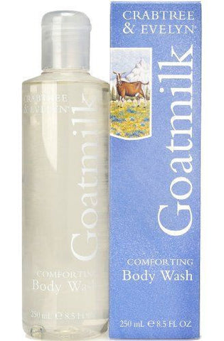 Crabtree & Evelyn Goatmilk Body Wash 8.5 oz - Discontinued Beauty Products LLC