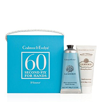 Crabtree & Evelyn La Source 60 Second Fix for Hands .9 oz ea. - Discontinued Beauty Products LLC