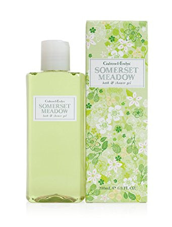 Crabtree & Evelyn Somerset Meadow Bath and Shower Gel 6.8 oz