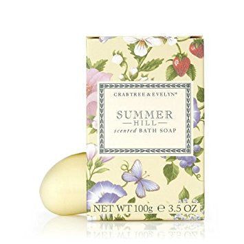 Crabtree & Evelyn Summer Hill Soap 3.5 oz