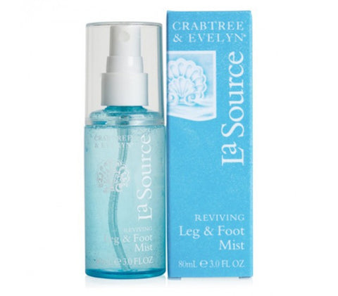 Crabtree & Evelyn La Source Reviving Leg & Foot Mist 2.7 oz. - Discontinued Beauty Products LLC