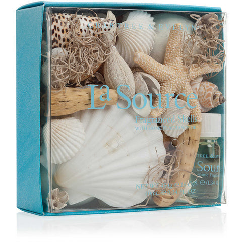 Crabtree & Evelyn La Source Fragranced Shells with Home Fragrance Oil - Discontinued Beauty Products LLC