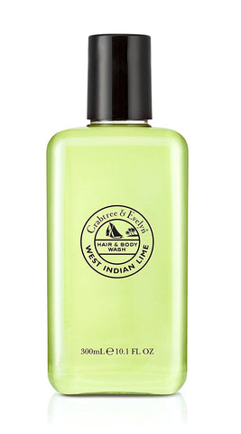 Crabtree & Evelyn West Indian Lime Body Wash 10.1 oz.
