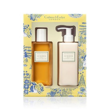Crabtree & Evelyn Summer Fruits Body Wash & Lotion Duo