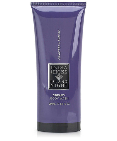 Crabtree & Evelyn India Hicks Island Night 2 pack Creamy Body Wash 1.7 oz - Discontinued Beauty Products LLC