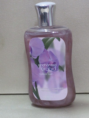 Bath & Body Works Enchanted Orchid Bubble Bath 10 oz - Discontinued Beauty Products LLC