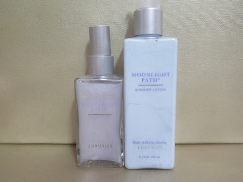 Bath & Body Works Luxuries Moonlight Path Gift Set - Discontinued Beauty Products LLC