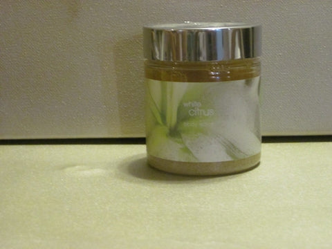 Bath & Body Works White Citrus Body Scrub 8 oz - Discontinued Beauty Products LLC