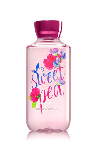Bath & Body Works Shower Gel Sweet Pea 10 Oz - Discontinued Beauty Products LLC