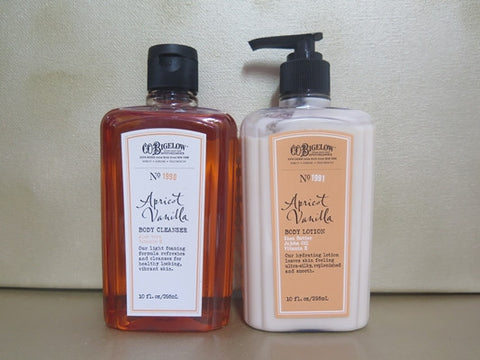 C.O. Bigelow Apricot Vanilla Gift Set - Discontinued Beauty Products LLC