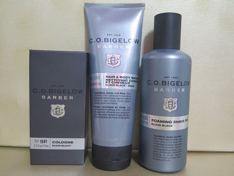 C.O. Bigelow Elixir Black Gift Set - Discontinued Beauty Products LLC