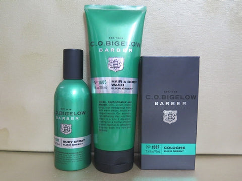 C.O. Bigelow Elixir Green Gift Set - Discontinued Beauty Products LLC