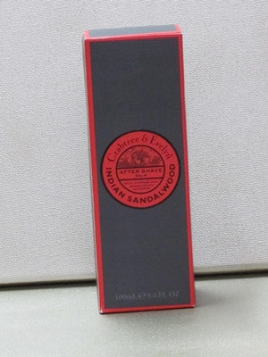 Crabtree & Evelyn Indian Sandalwood After Shave Balm 3.4 oz. - Discontinued Beauty Products LLC