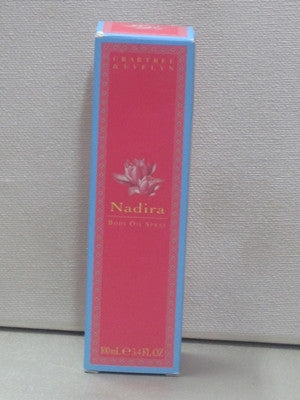 Crabtree & Evelyn Nadira Body Oil Spray 3.4oz