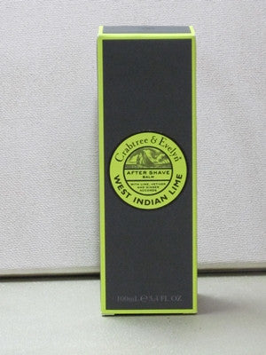 Crabtree & Evelyn West Indian Lime After Shave Balm 3.4oz