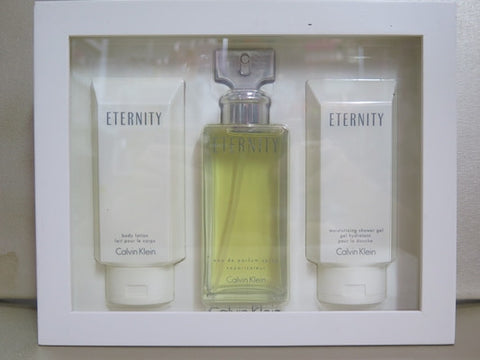 Calvin Klein Eternity 3 Piece Gift Set Misc. - Discontinued Beauty Products LLC