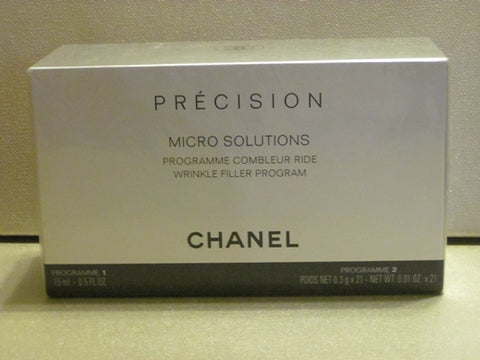 Chanel Precision Micro Solutions Wrinkle Filler Program .81 oz - Discontinued Beauty Products LLC