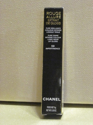 Chanel Rouge Allure Long Wear Lipgloss #59 - Discontinued Beauty Products LLC