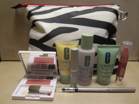 Clinique Zebra Print Gift Set - Discontinued Beauty Products LLC
