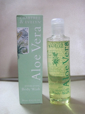 Crabtree & Evelyn Aloe Vera Bath and Shower Gel 8.5 fl oz - Discontinued Beauty Products LLC