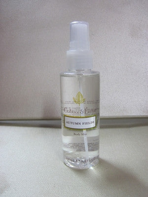 Crabtree & Evelyn Autumn Fields Body Mist 3.4 oz - Discontinued Beauty Products LLC