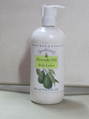 Crabtree & Evelyn Avocado Oil Body Lotion 16.9 fl oz - Discontinued Beauty Products LLC