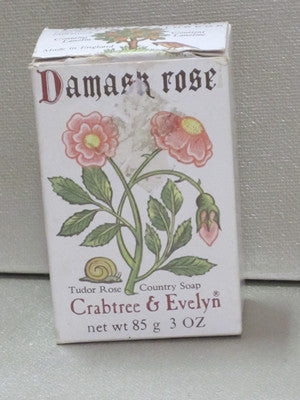 Crabtree & Evelyn Damask Rose Soap 3.0 oz - Discontinued Beauty Products LLC