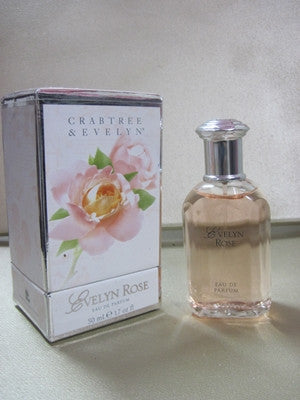 Crabtree & Evelyn Evelyn Rose Eau De Parfum 1.7 oz - Discontinued Beauty Products LLC