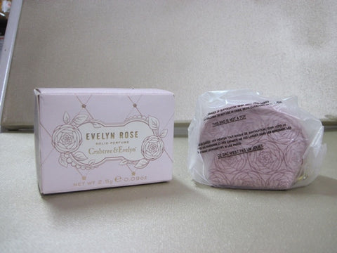 Crabtree & Evelyn Evelyn Rose New Scent Solid - Discontinued Beauty Products LLC