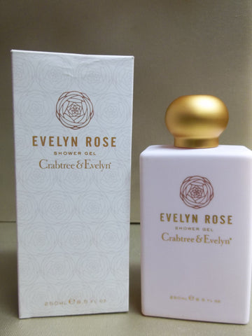 Crabtree & Evelyn Evelyn Rose Shower Gel 8.5 oz. - Discontinued Beauty Products LLC