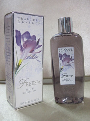 Crabtree & Evelyn Freesia Bath and Shower Gel 8.5 oz - Discontinued Beauty Products LLC