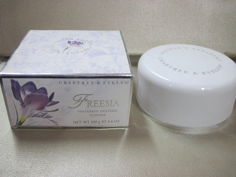 Crabtree & Evelyn Freesia Dusting Powder 3.4 oz - Discontinued Beauty Products LLC