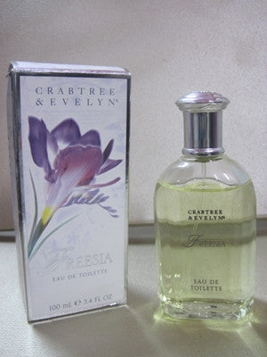 Crabtree & Evelyn Freesia Eau De Toilette 3.4 oz - Discontinued Beauty Products LLC