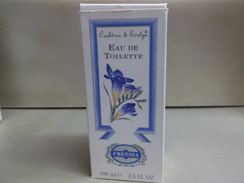 Crabtree & Evelyn Freesia Eau De Toilette 3.5 oz - Discontinued Beauty Products LLC